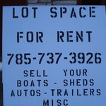 lot space for rent on a major intersection in plainville