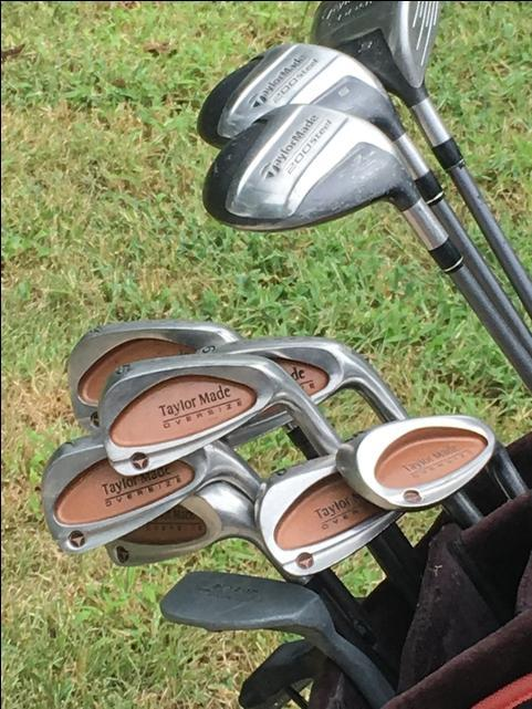 Taylor Made Full set of irons and woods