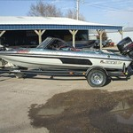 1996 Javilin 366 Fish & Ski with 150hp Johnson & trailler