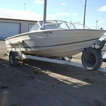1976 18' Galaxy w/188hp Mercruiser I/O & trailer
