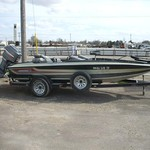 1987 18' Stratos 179DC w/150hp Mariner Magnum & trailer