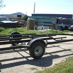 NEW 2014 Mid-America boat trailer for 18' to 20' boat
