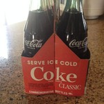 commerative Coke bottles/with carton