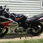 2005 Suzuki GS500F; only 1872 miles!  Great shape!