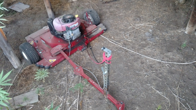 44quot Swisher Pull Behind Mower
