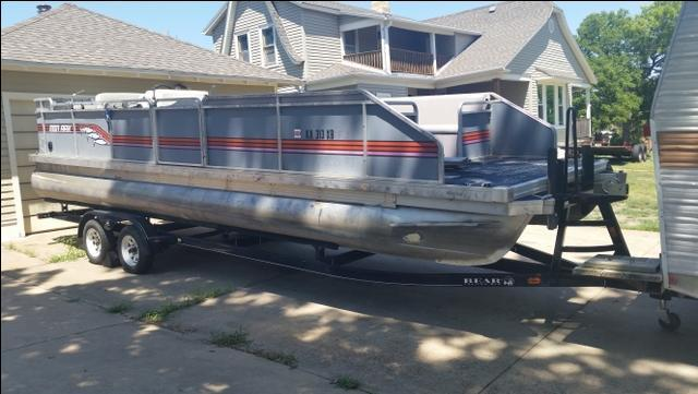 24ft pontoon boat with trailer accs nex tech classifieds - Craigslist fort smith farm and garden ...