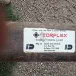 TorFlex Car Trailer Axles