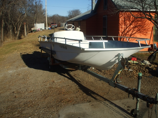 16 Foot Boat Ski Barge With A 9 5 Johnson Nex Tech