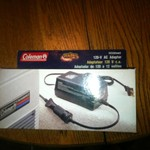 Coleman 120 v AC adapter