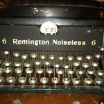 Price reduced Antique Remington Typewriter