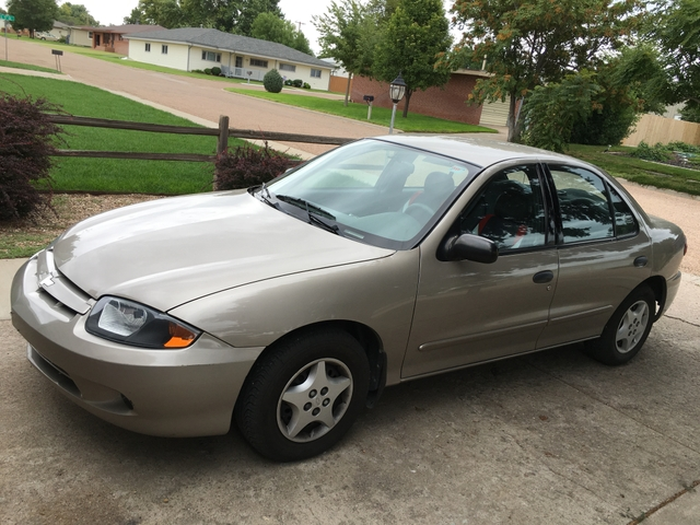Chevy Cavalier 2003 Front wheel Drive 4 doors