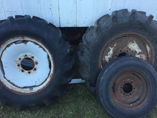 Ford 8n Tractor Front Tires : Tires and wheeles for n ford tractor pioneer classifieds