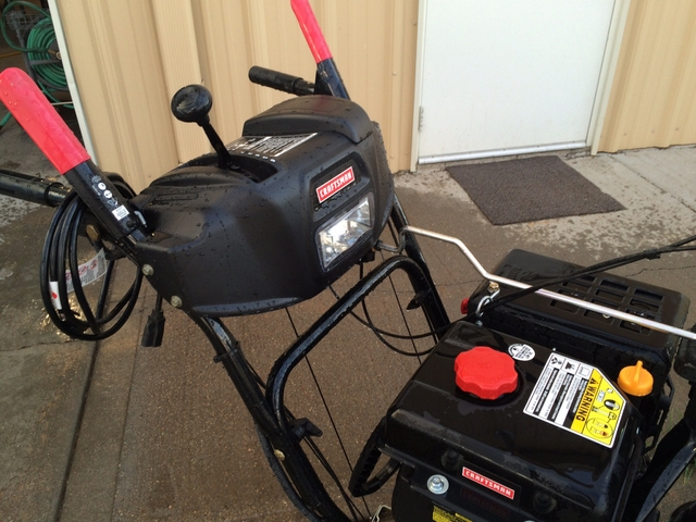 30 quot craftsman snow blower only used twice xit classifieds