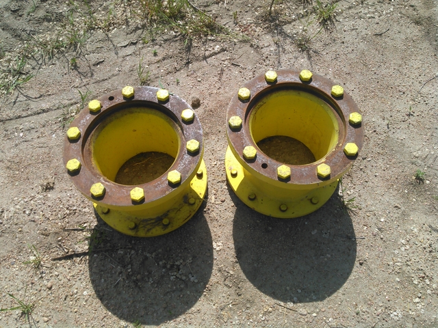 John Deere 10 Bolt Wheel Spacers : John deere bolt hubs spacers duals nex tech