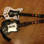 Rock Band and Guitar Hero Guitars for PS 2