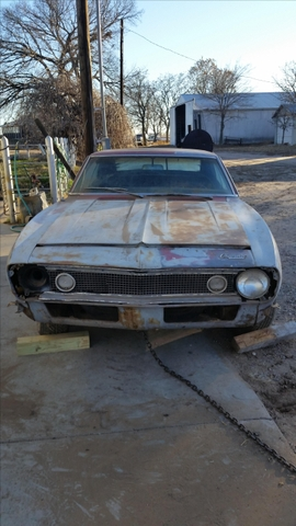 1967 Chevy Camaro amp Parts Car