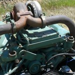 Detroit Diesel 8V92T 450 hp engine