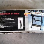 WORKBENCH & VICE (new, nonassembled)