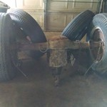 1940s Chevy rear axle