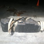fuel tank out of a 2005 F350 crew cab
