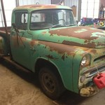 1957 dodge D100 p/u with a HEMI!!!!!