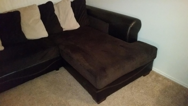 Couch w chaise lounge and oversized chair Nex Tech