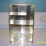 Brass and glass curio cabinets in Dining Room Furniture - Compare