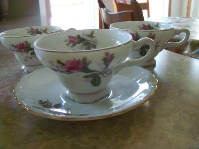 Vintage Antique China Plates