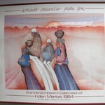 Southwestern Art Print - Indian Market - Reduced Price!