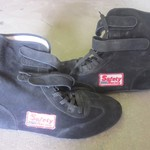 Safety Racing High Top Racing Shoes