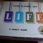 The Game of Life Vintage Board Game