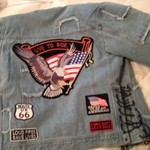 Lined Motorcycle Jean Jacket