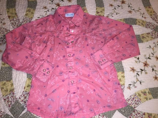 Size 5 and 56 western shirts