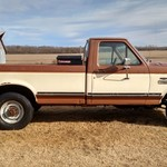 1989 ford f-250 low miles