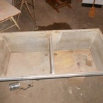 Concrete Sink w/Stand
