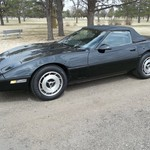 87 Corvette Convt. Low miles