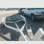 Boat trailer / Ajustable / 4 wheels