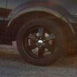 "22"" Moonshine Black Lincoln/ Ford Wheel and Tires"