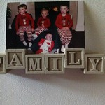 FAMILY photo picture magnetic display holder