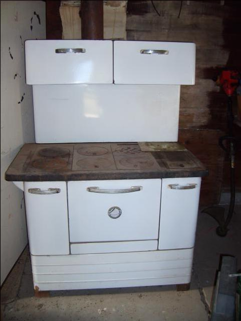 Wood Stove Oven : Wood burning stove/oven - DiscoverStuff