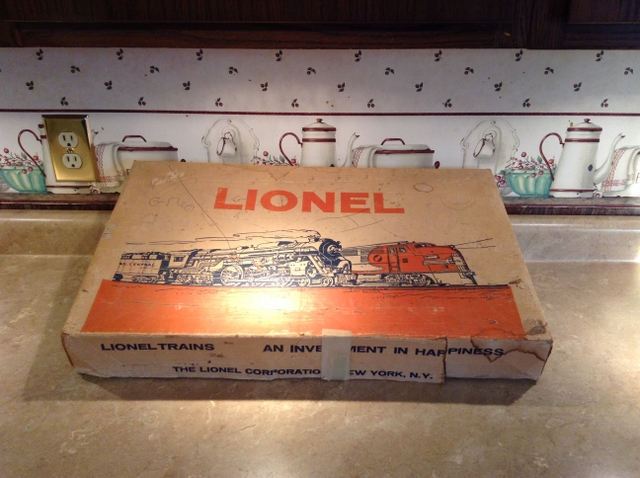 Vintage Lionel Electric Train Set
