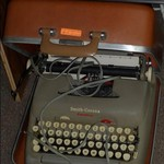 electric typewriter/case  sale