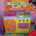 Dora the explora toy kitchen