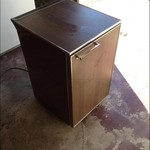 General Electric (GE) Small Freezer - False Woodgrain