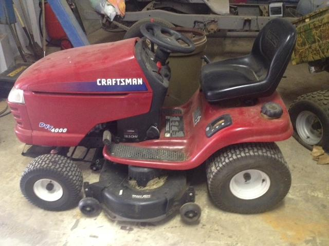Old Craftsman Lawn Mowers : Vintage craftsman riding lawn mower pictures to pin on
