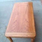 Coffee table w/ matching end table
