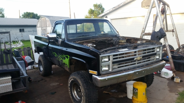 Short bed 86 chevy