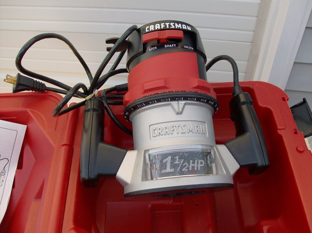CRAFTSMAN ROUTER 1-12 HP
