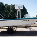 "16 "" Westcraft Boat with 75 HP Motor and Trailer"