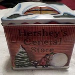 Hershey collector tin~Please call only~Hays~Thursday